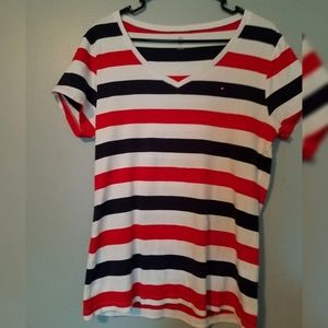 Tommy Hilfiger extra large stripped tshirt